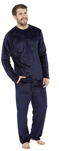 CityComfort Pijamas para Hombre, Pijama Forro Polar Loungewear, Pijama De Forro Polar Pijama De Dos...