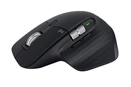 Logitech MX Master 3 Advanced Maus – Schwarz – Business Edition [Dual Connect, 2,4GHz & Bluetooth] - 2