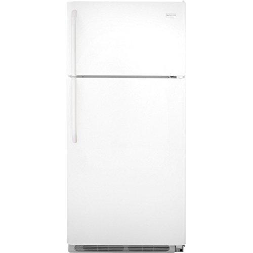 Frigidaire FFTR1814QW 18.0 Cu. Ft. White Top Freezer Refrigerator -...