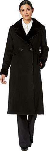 Price comparison product image LAUREN RALPH LAUREN Two-Button Maxi Wool Black SM