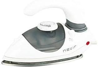 Nevir NVR-3540 PV GRI Fer à repasser de voyage Manche pliable 3-6g/min Gris