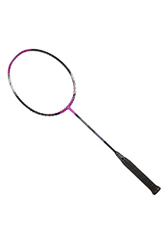 VICTOR Arrow Power 990 G5 Strung Badminton Racket Tension Upto 33lbs (Purple/Black) (3U)
