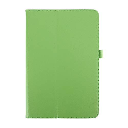 YIHUI Funda Protectora para Tablet PC for Galaxy Tab A 10.1 (2016) / P585 Litchi Texture con Funda de Cuero con Tapa Horizontal y Soporte (Negro) (Color : Green)