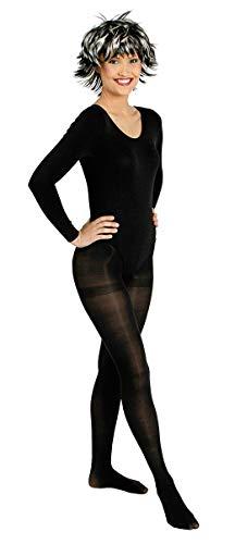 K842507-36-38 schwarz Profi Body Nylon 140 Den Blickdicht Tanz Sport Garde Kostüm Gr.36-38