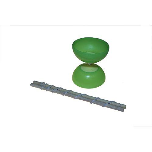 Juguetutto - Diábolo Verde Grande - Juguete de Madera