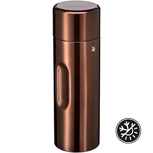 WMF Motion Isolierkanne 0,75l Cromargan Edelstahl, für Tee oder Kaffee, Thermosflasche mit Trinkbecher, hält 24h kalt & 12h warm, kupfer