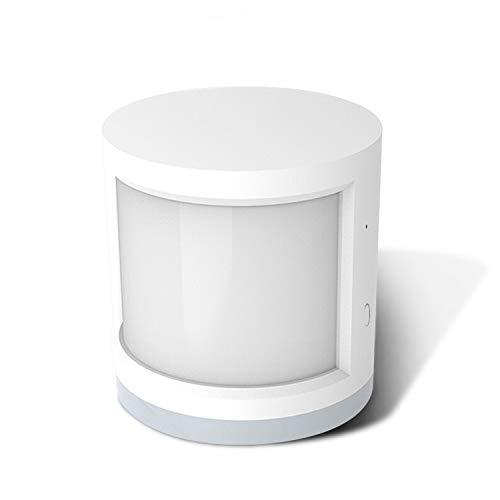 Smpufier PIR-sensor, bewegingsmelder voor veiligheid thuis, draadloos, afstandsbediening, werkt met Alexa, Google Assistant, IFTTT samen, vereist ZigBee Smart Hub(niet meegeleverd)