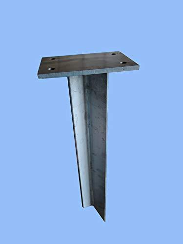 SchneckMetall Erdspieß für runde Wasserzapfstelle Edelstahl Wasserzapfsäule Wasserverteiler