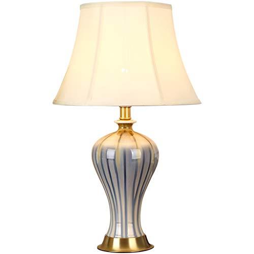 Lampe de chevet salon lampe de table étude de la maison lampe de table en céramique