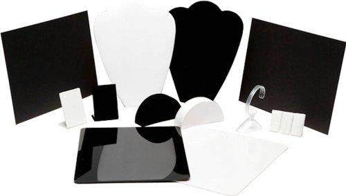 MyStudio MSJ1 12-Piece Jewelry Photography Kit for Lightbox Jewelry Photography