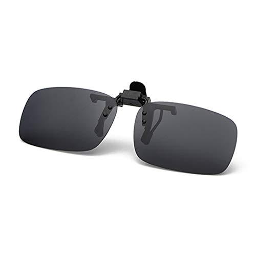 ZYHDYJ Hombres Mujeres Clip polarizado Gafas de visión Nocturna para Bicicletas Caja...