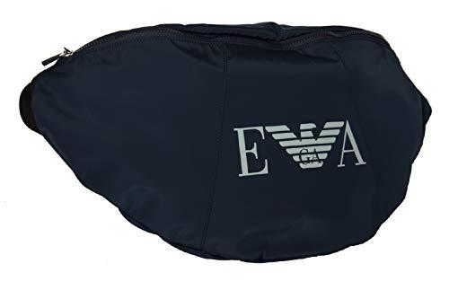 Emporio Armani Maxi bolsa riñonera articulo 211246 0P820 MAXI SLING BAG - cm.56 x cm.26 x cm.14, 06935 Blu navy - Navy blue, UNICA - ONE SIZE