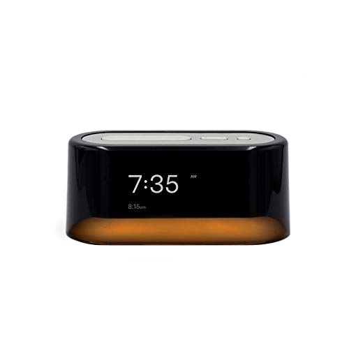 Loftie Smart Alarm Clock - Bluetooth Speaker, Sound Machine, Custom Alarms, Wellness Content, White Noise, Nature Sounds, Nightlight, and Blackout Mode for Relaxing Nights and Mornings (White)
