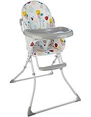 Safety 1st Kanji, Seggiolone Pappa Pieghevole per Bambini 6 mesi - 3 anni, Con Vassoio, Imbottitura Seggiolone