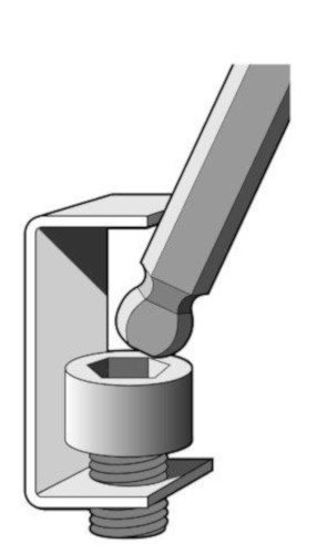 EKLIND 13609 Ball-Hex-L Key allen wrench - 9pc set Metric MM sizes 1.5-10 Long series