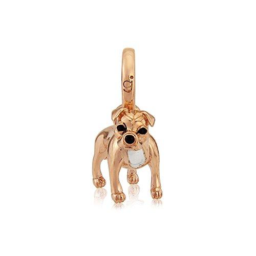 Gemma J Rose Gold Staffordshire Bull Terrier Charm