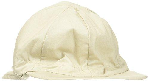 Melton Baby-Jungen Sommerhut mit Schirm und Nackenschutz UV 30+, Uni Kappe, Grau (Chateau Gray Mel. 416), 49
