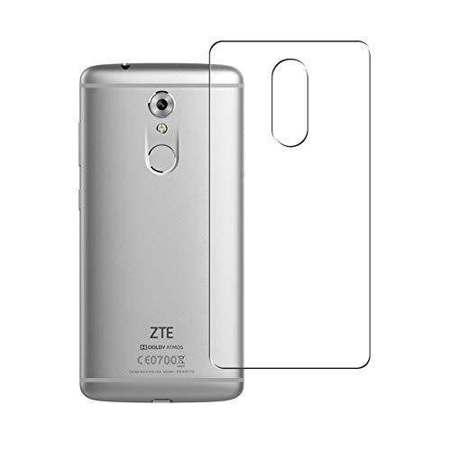 Vaxson 2 Unidades Protector de pantalla Posterior, compatible con ZTE Axon 7 mini Axon7 mini [No Vidrio Templado] TPU Película Protectora Espalda Skin Cover