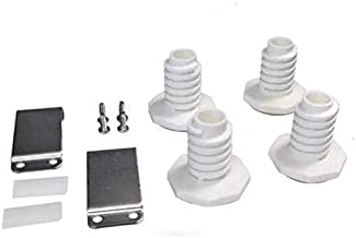 Lifetime Appliance W10869845 Stacking Kit Compatible with Standard & Long Vent Whirlpool Washer & Dryer