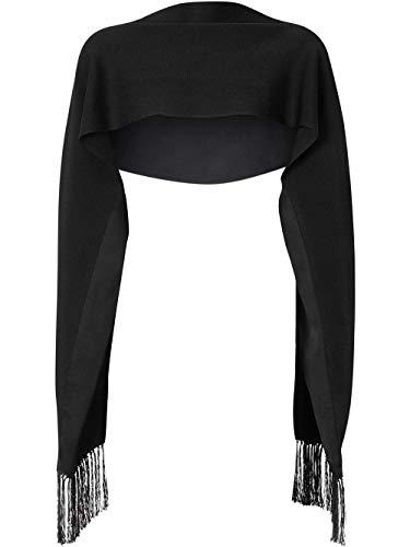 Luxury Fashion | Burberry Heren 8025625 Zwart Zijde Sjaals | Lente-zomer 20