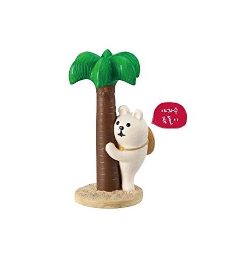 Hoilday Summer Figure - Palm Bear