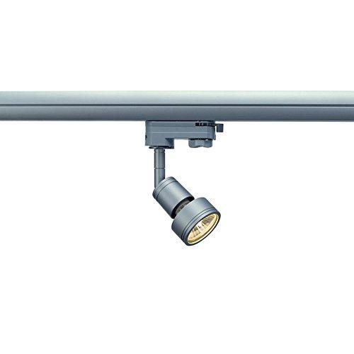 Preisvergleich Produktbild SLV PURI 3-Phasen Strahler Spot grau GU10 LED für Erco,  Staff,  Ivela Schienen