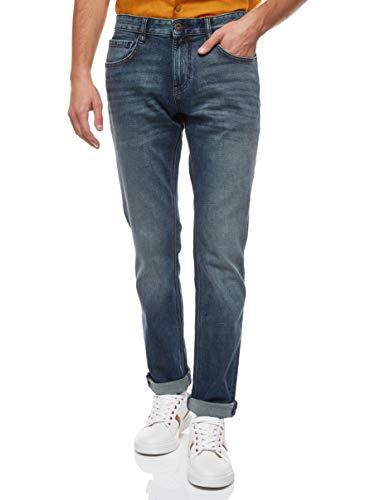 TOM TAILOR Herren Josh Regular Slim Jeans, Blau ( 10119 ) , 34/36