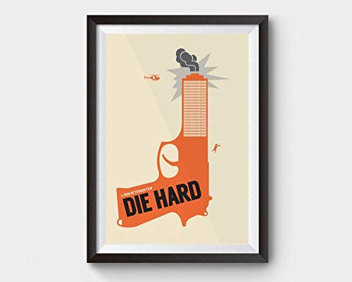MugKD LLC Die Hard Movie Poster die Hard Poster Bruce Willis Poster Movies Gifts for Fan [No Framed] Poster Home Art Wall Posters (24x36)