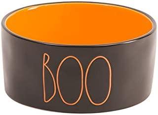 Rae Dunn Halloween Boo Dog Food Bowl
