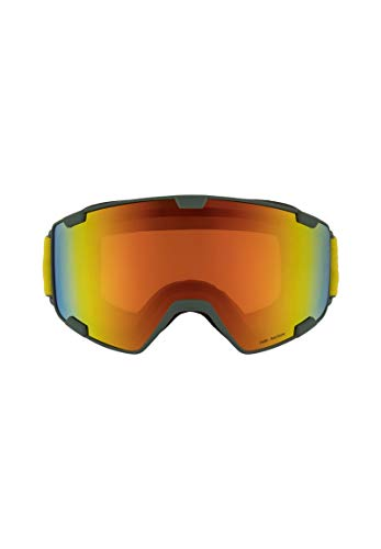 Red Bull Spect Goggle Schneebrille Park-002 Olive Green/Red Snow