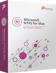 Microsoft NTFS pour Mac par Paragon Software (versions anglaise, française, italienne, espagnole, allemande) Accès complet en lecture/écriture!