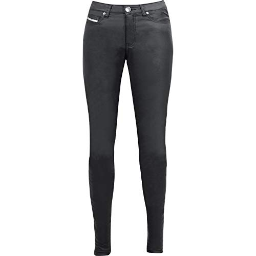 John Doe Betty Jeggings Black Used XTM | Motorradhose mit Kevlar | XTM Made with Dupont Kevlar | Einsetzbare Protektoren | Atmungsaktiv | Motorrad Jeans | Denim Jeans mit Stretch