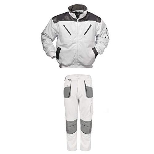 TMG/Feldtmann Arbeitshose Comfort Winterjacke Malerbekleidung als Set 2-Teilig (42)