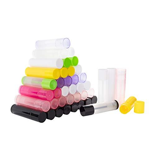 PandaHall Elite & reg DIY 5.5 ml Leere Lippenstift-Flasche, Lip Gloss Tube, Lippenbalsam Tube, mit...
