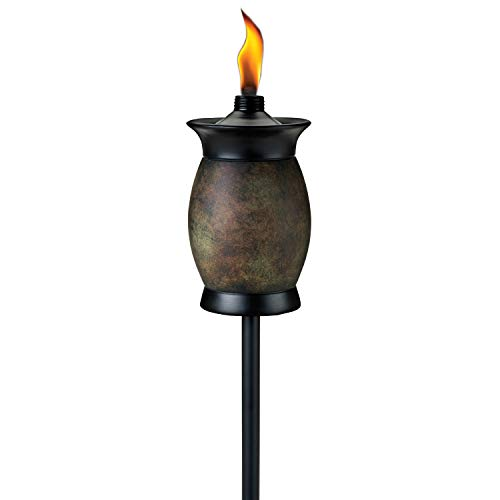 TIKI Brand 63-inch Resin Jar TIKI Torch 4-in-1 Stone Color