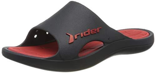 Rider Herren Bay Ix Ad Pantoletten, Mehrfarbig (Blue/Red 8548.0), 41 EU