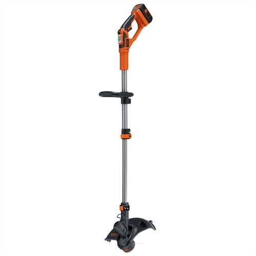 BLACK+DECKER GLC3630L20-QW Coupe-bordures sans fil - 2 vitesses - 1 batterie - Tube telescopique et...