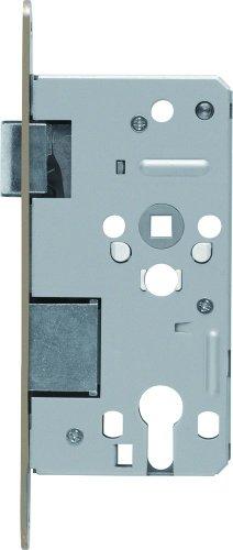 ABUS Tür-Einsteckschloss Profilzylinder TKZ70 HG L hammerschlag-gold für DIN-links Türen 20820