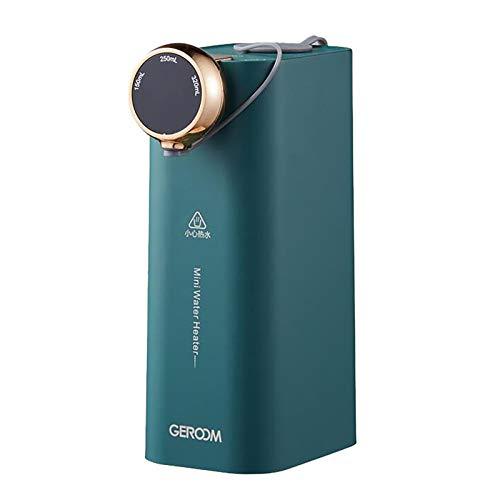 TIREOW Heißwasserkessel Und Wärmer, Heißwasserspender Mit LED Anzeige, Mini Heißwasserspender, Heißes Wasser In 3 Sekunden, 7-stufige Temperatur, Sicherheitsverriegelung Für Kaffee Und Tee