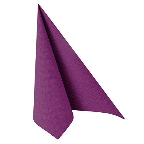 Papstar Servietten / Tissueservietten lila