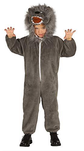 Guirca- Disfraz lobo, Talla 3-4 años (87490.0)