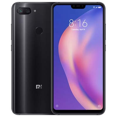 Global Version Mi 8 Lite 6GB 128GB 6.26' 19:9 Notch Full Screen Snapdragon 660 Octa Core 24MP Front Camera Smartphone (Black) (Black)