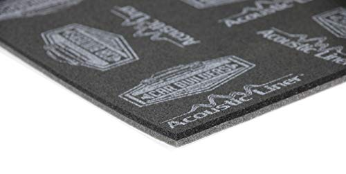 Acoustic Liner- Modern Day Carpet Underlay (19.4sqft) Sound and Heat Control- As Seen on CAR Builders- Closed and Open Cell Foam