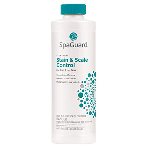SpaGuard Hot Tub Stain and Scale Control