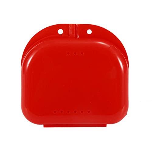 Cajas dentales de almacenamiento para dispositivos de dientes falsos cajas de almacenamiento de dentadura caja de baño caja de maquillaje organizador