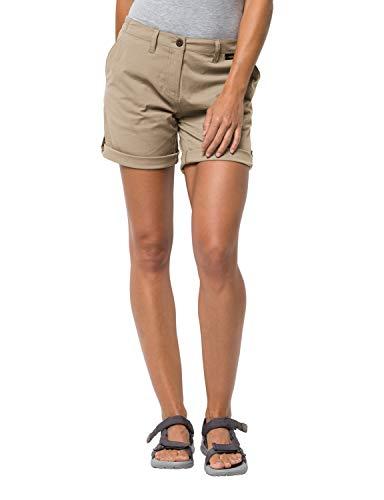 Jack Wolfskin Damen Desert Shorts, sand dune, 36 (S)