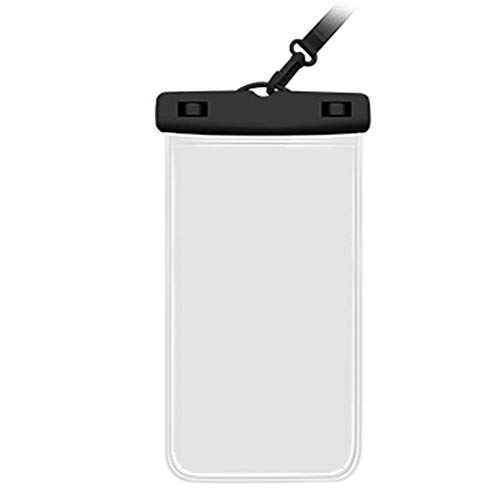 Impermeable Bolsa del teléfono Flotante Impermeable Universal del teléfono Caso de la Bolsa Flotante Borrar Submarino del teléfono Celular del Bolso seco Negro
