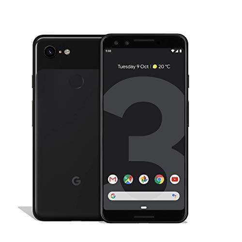 Google 99928210 - Smartphone 3 13,86 cm (5,46 pollici), 2.5 GHz, 64 GB, 12,2 MP, colore: Nero