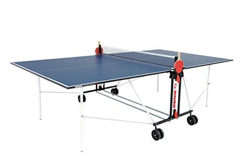 DONIC Indoor Roller Fun Tischtennisplatte, Weiß-Blau, One Size