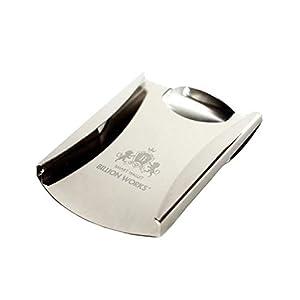 Billionworks マネークリップ カード メンズ シルバー ミニ財布